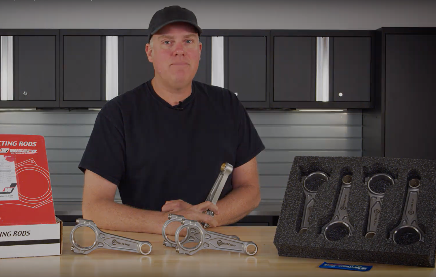 Video: BoostLine 6.125in LS Connecting Rods.